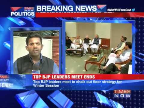 BJP chalks out floor strategy