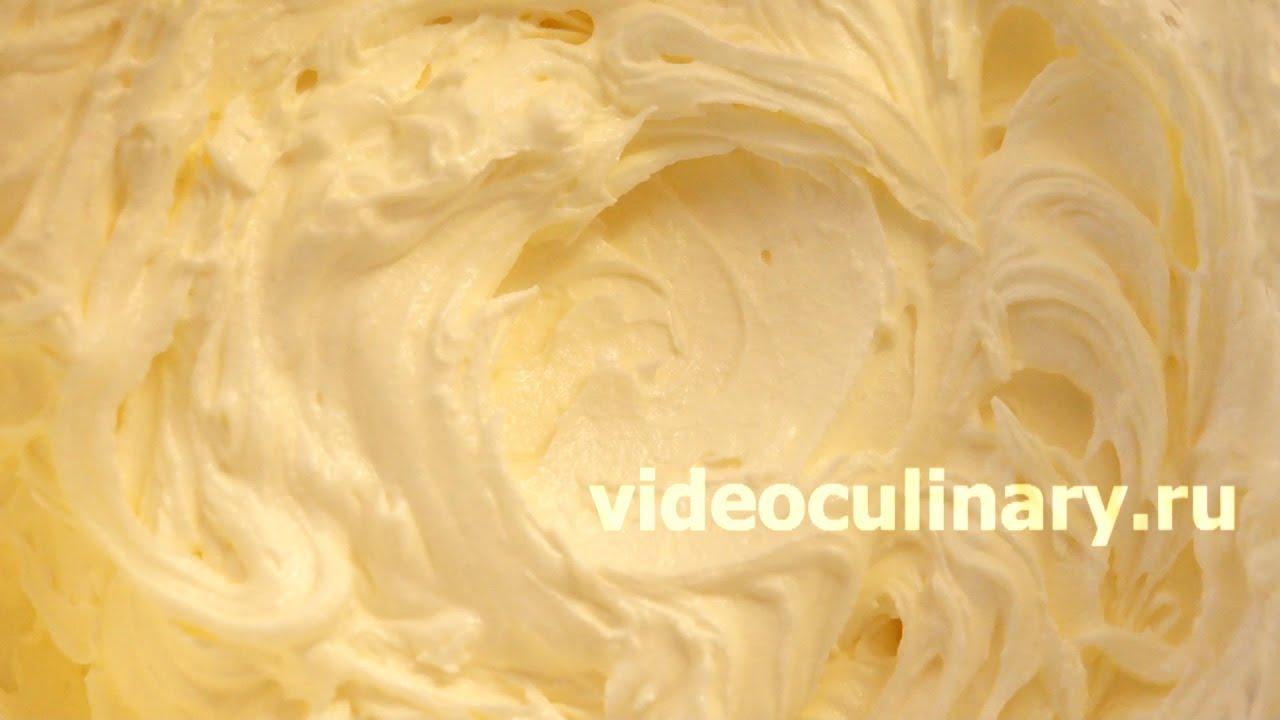 Как сделать масляный крем для украшения торта с молоком