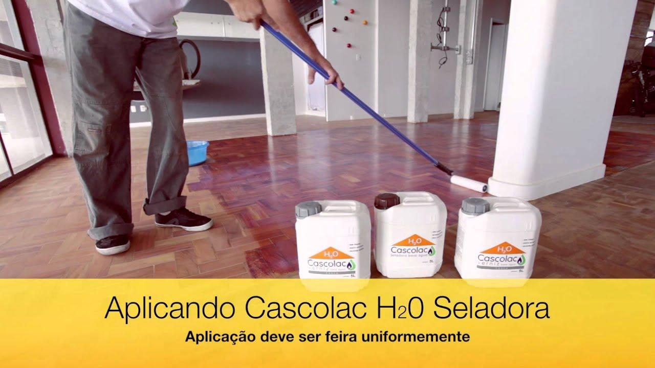 H2O Verniz à base de água para assoalho de madeira   #C49807 1920x1080