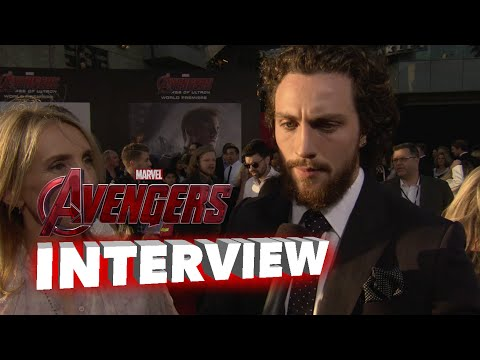 Marvel's Avengers: Age of Ultron: Aaron Taylor-Johnson
