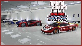 """MODIFICHIAMO LE NUOVE 3 AUTO STUNT SUPER DEL DLC """"Stunt da capogiro"""" ! GTA 5 Online GAMEPLAY ITA"""