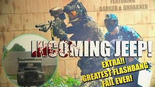 Paintball Sniper ►Incoming Jeep!