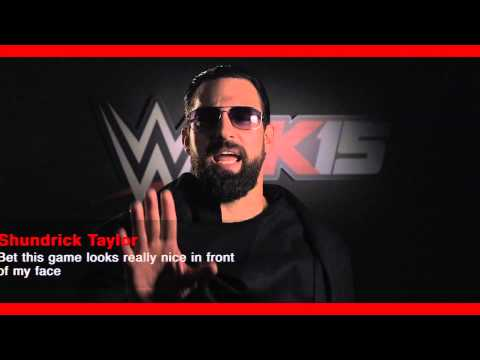 Damien Sandow To Shundrick Taylor   Wwe 2k15 Comment Takeover video