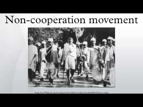 non cooperation movement Details on non cooperation started by mahatma gandhi in 1920 it's was continued till 1922 this is very important history topic for upsc exam.