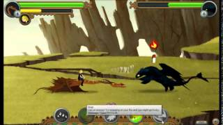 Swiftslice vs Toothless ~ Httyd online video game