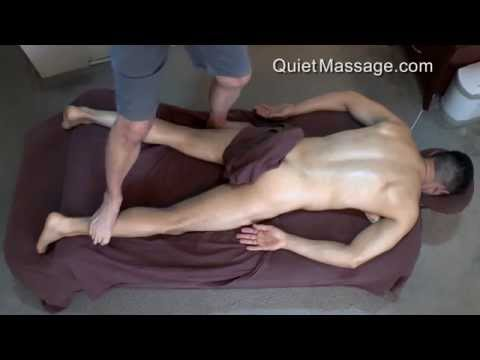 Ashiatsu Massage   Deep Tissue With Male Model