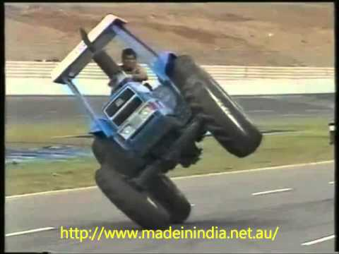 tractor stunt