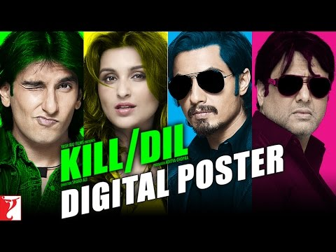 Kill Dil - Digital Poster