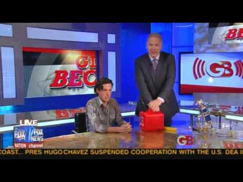 "Glenn Beck Pours ""Gas"" On Guest Over Spending - Obama why don't you just set us on fire"