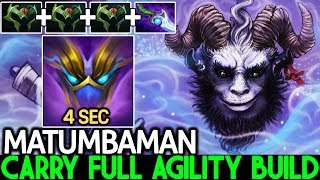 Matumbaman [Riki] Full Agility Build Carry Hard Game Meta 7.22 Dota 2