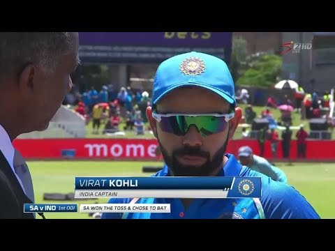 South Africa Vs India: 1st Momentum ODI, Build Up (Part 1)