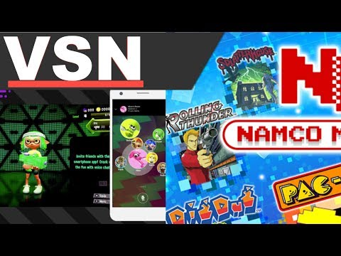 Splatoon 2 Gets Companion App, Nintendo Switch Pac-Man Vs. Has Download Play