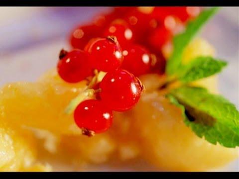 Как приготовить фрукты - видео