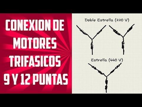 Conexion de Motores Trifasicos 9 y 12 Puntas (Teoría)