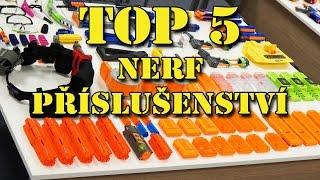 Nerf - TOP 5 příslušenství