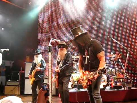 ZZ Top at the House of Blues with Slash &amp; John Mayer