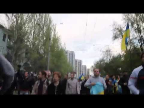 Donetsk - Violence Erupts - April 28th