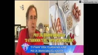 Prof.Dr. İbrahim SARAÇOĞLU D Vitaminin Önemini Anlatıyor