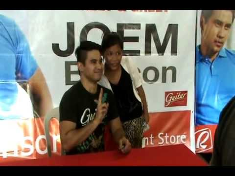 Joem Bascon's Meet and Greet in Robinsons Place Palawan
