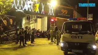 Hàng trăm cảnh sát bất ngờ 'đột kích' quán bar F1