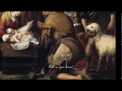 Oh Holy Night (COMPLETE Christmas Carol with lyrics) Pavarotti/Charlotte Church/Celine Dion