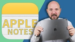 🍏 Apple Notes - Best Note-Taking App for iPad Pro 2018 and Apple Pencil?