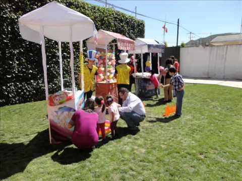 Zanqueros en pachuca inflables puestos tipo feria y kermes maquina de palomitas y algodones for Decoracion kermes mexicana
