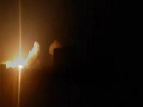 U.S. Airstrikes Begin Over Syria