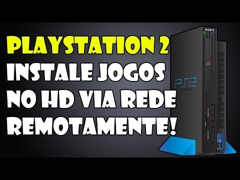 Tutorial - Instale jogos no HD do PS2 remotamente pelo PC