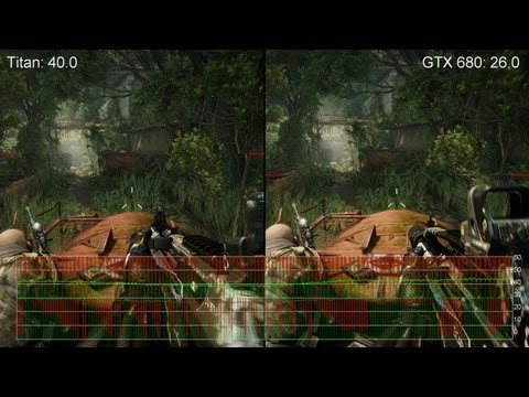 Crysis 3 Max Settings: GeForce Titan vs. GTX 680 - 2560x1440