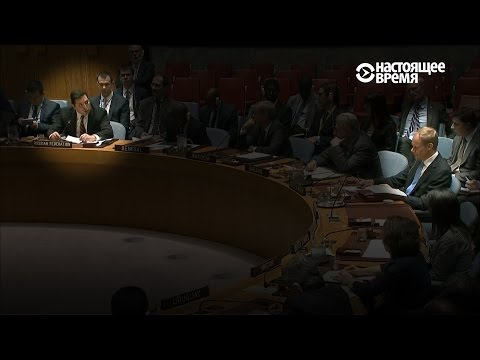 За что Сафронков наехал на британского коллегу в ООН