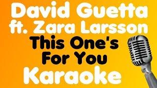 David Guetta - This One's For You (feat. Zara Larsson) - Karaoke