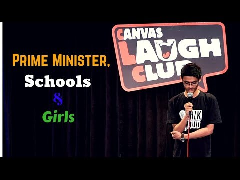 Prime Minister, Schools  Girls  Stand-Up Comedy by Mohd Suhel