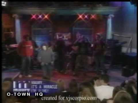 O-Town - Surprise fan &amp; These Are The Days live on The Maury Povich Show (HQ)