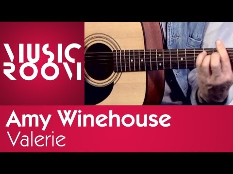 Valerie - Amy Winehouse - Tutorial di chitarra - Music Room
