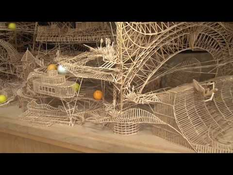 Toothpick Artist Recreates San Francisco