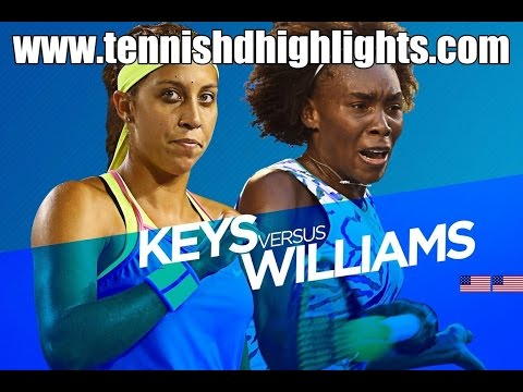 Venus Williams vs Madison Keys Highlights HD 1/4 Australian Open 2015