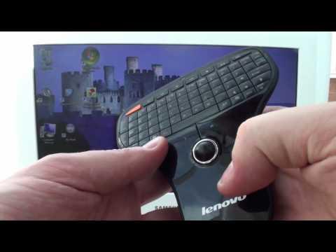 Lenovo N5901 Wireless Mini Remote Keyboard & Trackball Review