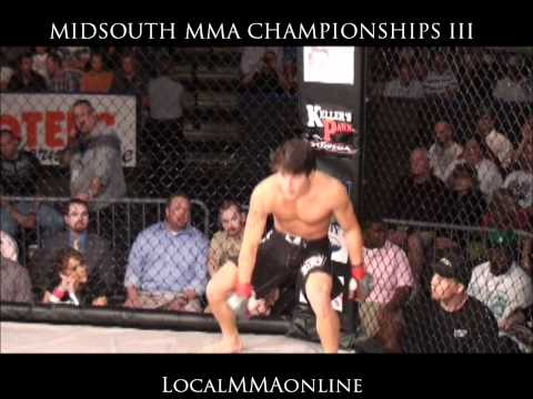 TYLER HATLEY vs JUSTIN BARBER  - MidSouth MMA Championships...