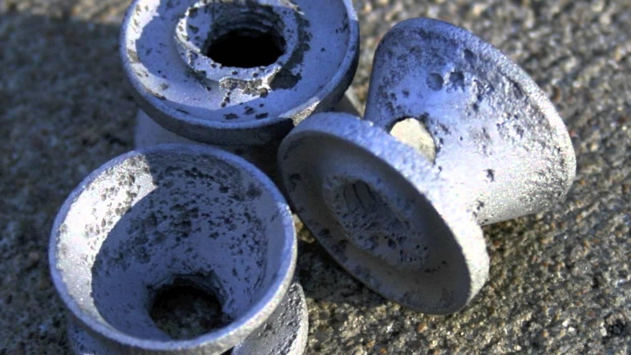 Aluminum Corrrosion With Silencer Baffles Youtube