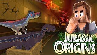 "Jurassic World Origins #15 ""MY LOST RAPTORS!"" (Dinosaur Mod Minecraft Roleplay)"