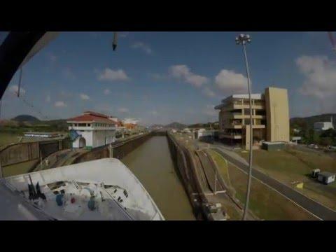 GoPro - Azamara Journey in Panama Canal HD (Azamara Club Cruises)