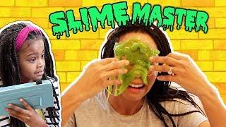 Slime Master Pranks Mommy's Spa Day! New Toy Master