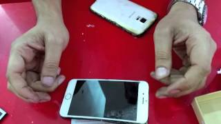 Apple iPhone 6 vs Samsung Galaxy S5 BEND TEST