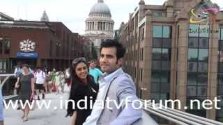 Karan Tacker & Krystle Dsouza having Fun in London