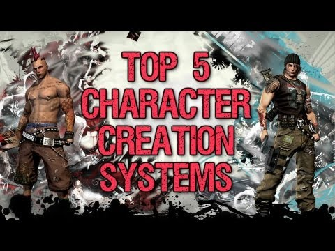 Top 5 Ultimate Character Creation Systems