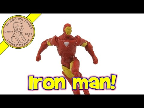 Iron Man - Marvel Miniature Alliance Action Figures Series