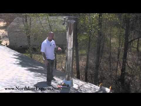 DuraTech Chimney Pipe - Installing An Extended Roof Support For Your Chimney Flue