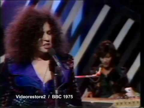 TOTP 31 july 1975 Lost performance Marc Bolan / T.Rex - New York City ( full version)