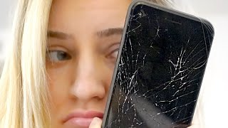 Shattered my iPhone 😭 | iJustine